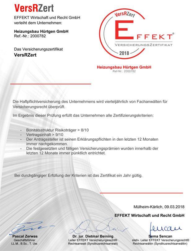 Zertifikate - Ihr Partner für Heizungen und Sanitär aus Thalfang ...